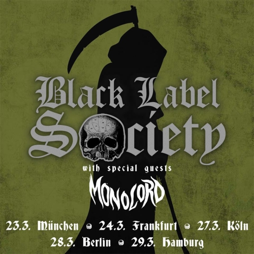 03 Black Label Society Flyer